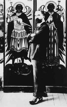 Фотопортрет художника Ивана Яковлевича Билибина. 1920-е гг. Фото : ЗдравствуйРоссия.рф