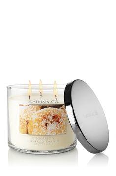 My new favorite candle – Bath & Body Works – Slatkin & Co Cinnamon Sugared Donut