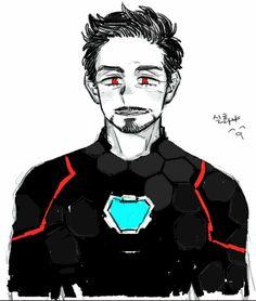 Tony Stark, The Iron Man! Super Hero shirts, Gadgets