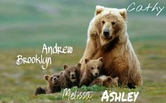 Mama n our cubs