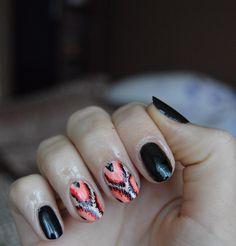 Takie wzorki na pewno rozweselą Was w ponure jesienne dni :) #autumn #nails