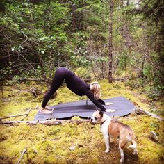 Yoga in the forest with the Square36 6'x4′ Yoga mat at Chapman Falls, Sechelt BC Canada. Thanks kelsey and Rocky for the great shot:) What a beautiful spot! The Square36 yoga mat gives you lots of space to fully stretch out to practice yoga in the woods or wherever you choose to practice. www.square36.com #rainforest #forest #forestyoga #yoga #yogagirl #downwarddog #square36mats #yogi #mat #yogamat #yogaeverywhere #yogapose #pose #active #outdoors #noexcuses #yogagram #yogaeverydamnday…