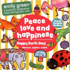 Wishing you Peace Love & Happiness today and everyday! #EarthDay #EarthDay2015 #EarthDayEveryday #HappyEarthDay #PeaceLoveHappiness