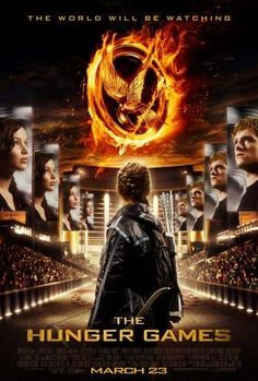 Hunger Games The Movie poster Metal Sign Wall Art 8in x 12in