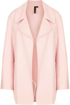 Pink Wool Coat By Boutique - Lyst