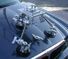 Ball -Leveling Head / Suction Cup Camera Mount Kit for Cars.  Best Seller