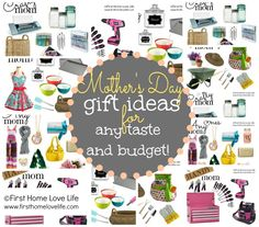 TONS of Mother's Day Gift Ideas via www.firsthomelovelife.com
