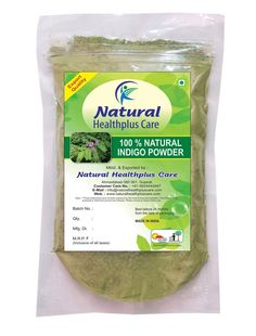 100% Natural Indigo Leaves (INDIGOFERA TINCTORIA) Powder as HAIR COLORANT NATURALLY by Natural Healthplus Care (1/2 lb / 8 ounces / 227 g) *** For more information, visit image link.