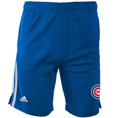 Chicago Cubs Youth 3 Stripe Short by adidas - MLB.com Shop Striped Shorts 36a49f2d5