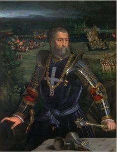 Portrait of Alfonso I d'Este - Dosso Dossi