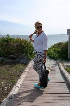 Bold prints in black and white #fabfound @marshalls
