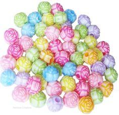 Rainbow Creations Rosebud Beads