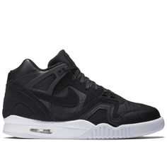 Nike - Air Tech Challenge II Laser - Black/Black-White