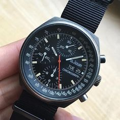 Massive 1970s LeJour PVD racing chronograph hitting the site today!