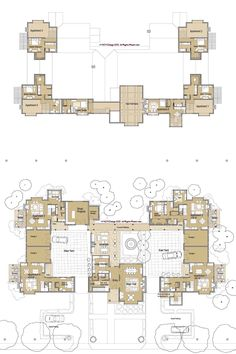 Structure undertakings in Japan, inclusive of Japanese people residences, general public buildings and places of work. Social Housing Architecture, Co Housing, Architecture Plan, House Plans Mansion, Dream House Plans, House Floor Plans, Cluster House, Japanese Living Rooms, Craftsman Floor Plans