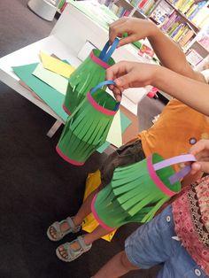 Taller infantil de creación de farolillos chinos (agosto 2014)