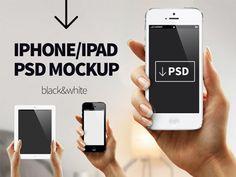 Iphone Ipad Free PSD Mock Up