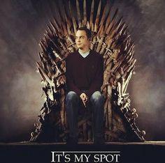 Sheldon Cooper Game of Thrones