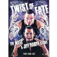 WWE: Twist of Fate - The Matt & Jeff Hardy Story. I used tot watch this all the time because I am completely in love with these two:) Wwe Jeff Hardy, The Hardy Boyz, Wwe Pictures, Twist Of Fate, Brothers In Arms, Thing 1, Wwe Wallpapers, Video On Demand, Cultura Pop