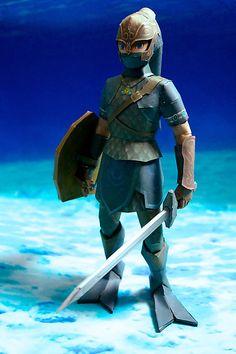 Legend of Zelda papercraft... woaaaaah.....