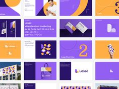 Lasso | Brand Identity by Oleg Coada ☼ on Dribbble Brand Book, Brand Guidelines, Brand Identity Design, Colors, Colour, Color, Paint Colors, Branding Design, Hue