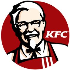 In the KFC logo the main colour is Red which symbolises Hunger / appetite, which for the viewer would trigger their appetite drawing them towards the branding. Logo Restaurant, Fast Food Restaurant, Kfc, Food Graphic Design, Graphic Design Illustration, Logo Design, Fast Food Logos, Logo Food, Status Bar Icons