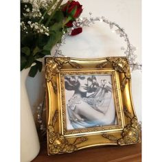 Square Romeo Ornate Picture Frame - Ayers & Graces Online Antique Style Mirror Shop