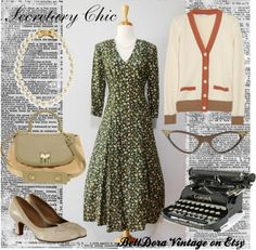 """Secretary Chic"" by belldora on Polyvore"