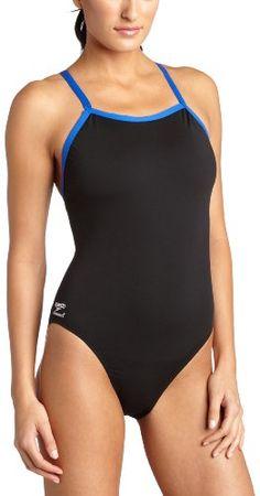 e74aa8c9cbad7 Speedo Women s Race Endurance Polyester Flyback Training Swimsuit One Piece  Swimsuit