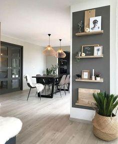 Interior escandinavo que você vai adorar - Einrichtungs Ideen - Arquitetura Cultural Living Room Designs, Living Room Decor, Home Design, Interior Design, Design Ideas, Design Projects, Design Design, Diy Projects, Studio Apartment Decorating