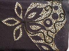 Irish Crochet, Crochet Lace, Lace Pants, Leather And Lace, Embellishments, Activities, Embroidery, Stitch, Boho