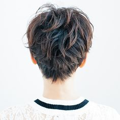 クセ毛を生かしたベリーショートで女らしさアップ!   Marisol ONLINE   女っぷり上々!40代をもっとキレイに。 Medium Short Hair, Short Hair Cuts, Medium Hair Styles, Short Hair Styles, Wavy Pixie, Short Pixie, Ash Hair, Hair Brained, Good Hair Day