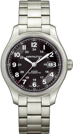 @hamiltonwfan Khaki Field Titanium Auto #bezel-fixed #bracelet-strap-titanium #brand-hamilton #case-depth-11-45mm #case-material-titanium #case-width-42mm #date-yes #delivery-timescale-call-us #dial-colour-black #gender-mens #luxury #movement-automatic #official-stockist-for-hamilton-watches #packaging-hamilton-watch-packaging #style-dress #subcat-khaki-field #supplier-model-no-h70525133 #warranty-hamilton-official-2-year-guarantee #water-resistant-100m