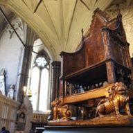 Henry VIII's throne