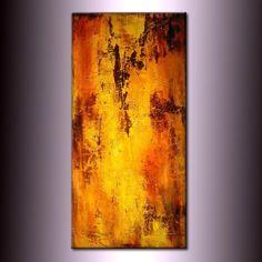 ORIGINAL Abstract Painting Textured van newwaveartgallery op Etsy