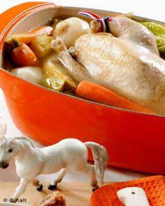 Poule au pot Béarnaise pour 6 personnes - Recettes Elle à Table