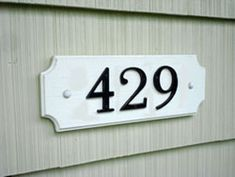How To Make a House Address Plaque