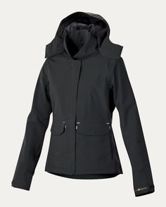 Pinnacle Jacket  by Noble Equine- waterproof jacket designed especially for comfort in the saddle. ($179.99) Noble Equine donates 5% of profits to equestrian-focused youth programs.