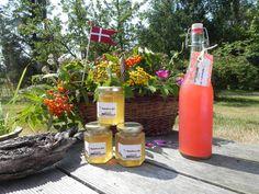 Marmeladehuset Baagøs rabarbersaft og hyldeblomst gelé