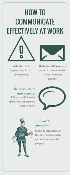Check out our tips to success for effectively communicating in the office.