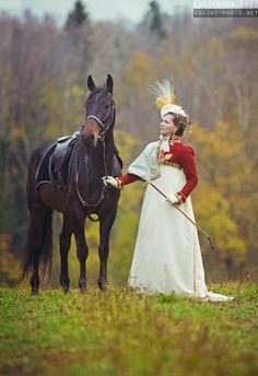 Side saddle riding - Equine Photography by Ekaterina Druz