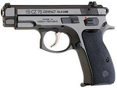 CZ 75 COMPACT cal. 9 mm Luger, black polycoat, 10 Rd Mags