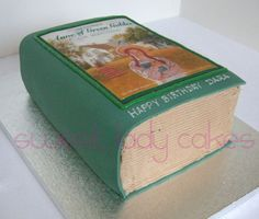 Anne of Green Gables Cake. OKay this is pretty EPIC for an Anne of Green Gables fan!