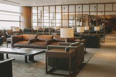 New Cathay Pacific Lounge in Manila 2