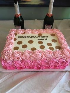 Rosette Sheet Cake Classy And Chic By Hayleycakes And