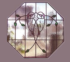 Octagonal Flower Window