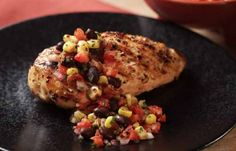 Grilled Chicken with Spicy Corn & Black Beans | Mrs. Dash