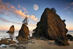 Ruby Beach, Olympic Pennisula, Washington State