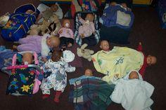 Babyvriendjes op bezoek Nutsschool Maastricht