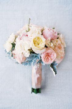 Pastel bouquet: http://www.stylemepretty.com/little-black-book-blog/2014/10/31/intimate-sunstone-villa-wedding/ | Photography: Khanh Hogland - http://khanhhogland.com/